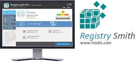 دانلود Registry Smith 2.1.6.30 - نرم افزار تعمیر رجیستری ویندوز