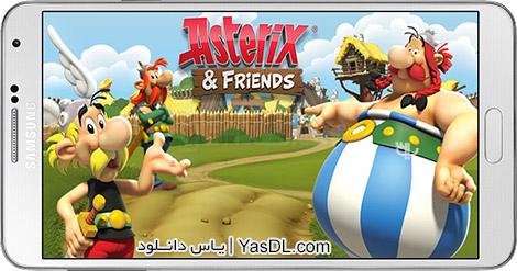 دانلود بازی Asterix and Friends 1.3.1 - آستریکس و دوستان برای اندروید