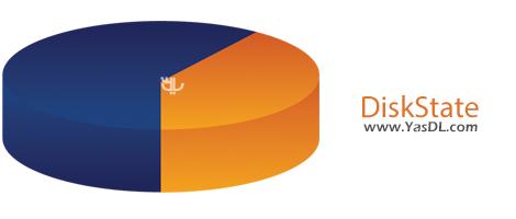 دانلود DiskState 3.85 Build 1700 Retail + Portable - نمایش وضعیت درایوهای هارد دیسک