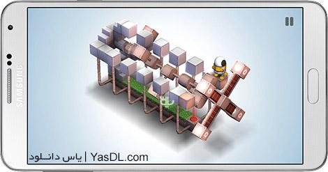 دانلود بازی Mekorama 1.0 - ساختن خانه ربات برای اندروید
