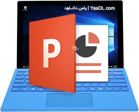 دانلود Microsoft PowerPoint 2016 16.0.4266.1001 x86/x64 VL - پاور پوینت 2016