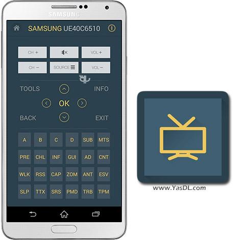 دانلود Samsung TV Remote DLNA AdFree 4.5.5 Build 2045 - تبدیل گوشی های سامسونگ به کنترل تلویزیون