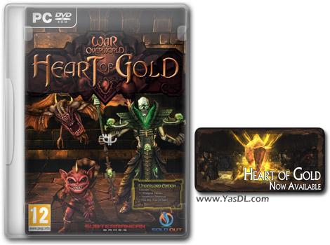 دانلود بازی War for the Overworld Heart of Gold برای PC