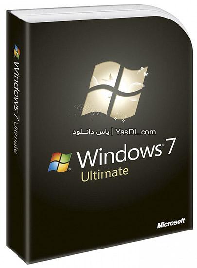 دانلود ویندوز 7 Windows 7 Ultimate / AIO SP1