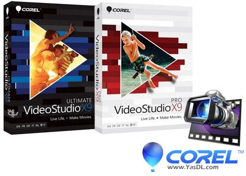 دانلود Corel VideoStudio Pro / Ultimate X9 19.6.0.1 x86/x64 - نرم افزار ویرایش و میکس ویدئو
