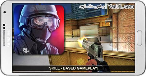 دانلود بازی Counter Attack Team 3D Shooter 1.1.62 - کانتر اتک برای اندروید + دیتا + بی نهایت