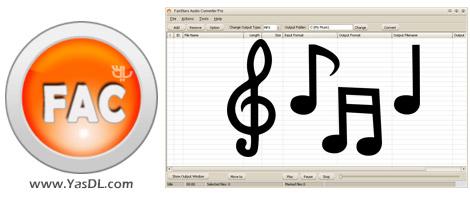 دانلود FairStars Audio Converter Pro 1.81 - مبدل فایل های صوتی