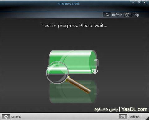 دانلود HP Battery Check 4.1.0.2 - نرم افزار مدیریت باطری لپ تاپ های HP