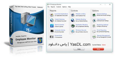دانلود HT Employee Monitor 10.2.8.40 - نرم افزار نظارت و کنترل کاربران