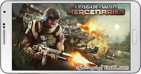 دانلود بازی League of War Mercenaries 5.5.57 - ارتش مزدوران برای اندروید