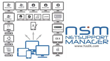دانلود NetSupport Manager 12.10.8 - نرم افزار کنترل از راه دور کامپیوتر