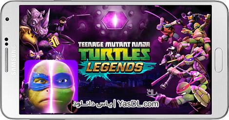 دانلود بازی Ninja Turtles Legends 1.1.6 - افسانه لاک پشت های نینجا + نسخه بی نهایت
