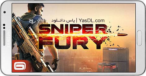 دانلود بازی Sniper Fury 1.6.0q - خشم اسنایپر برای اندروید + دیتا