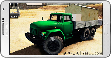 دانلود بازی Truck Driver Crazy Road 2 0.48.a - رانندگی کامیون برای اندروید + دیتا