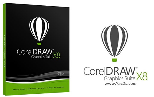 دانلود CorelDRAW Graphics Suite X8 18.1.0.661 - کورل دراو