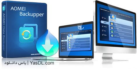 دانلود AOMEI Backupper Professional / Technician / Technician Plus / Server 6.4.0 - پشتیبان گیری