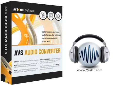 دانلود AVS Audio Converter 8.2.1.568 - نرم افزار تبدیل فرمت های صوتی