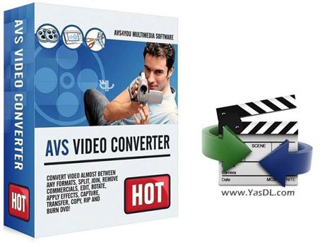 دانلود AVS Video Converter 12.1.5.673 - مبدل فرمت های ویدیویی