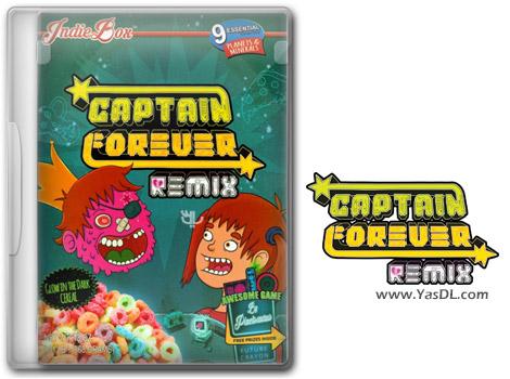 دانلود بازی کم حجم Captain Forever Remix برای کامپیوتر
