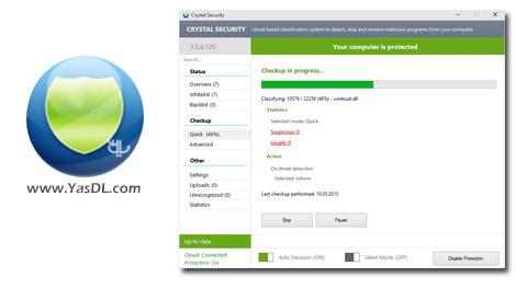 دانلود Crystal Security 3.5.0.184 + Portable - حفاظت از سیستم در برابر مخرب ها
