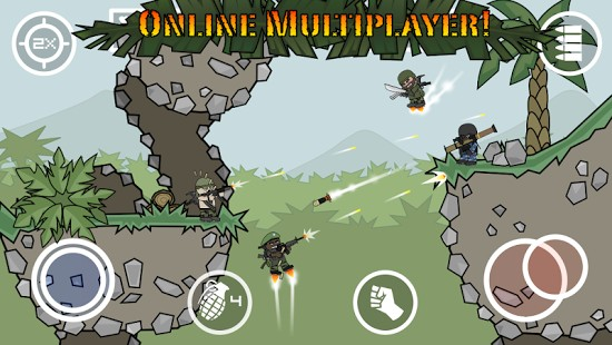 Doodle Army 2 Mini Militia 5.3.0 Mini Militia Android + Infinite Mod Version