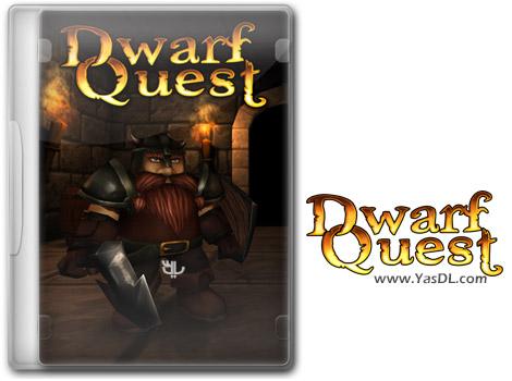 دانلود بازی کم حجم Dwarf Quest برای کامپیوتر