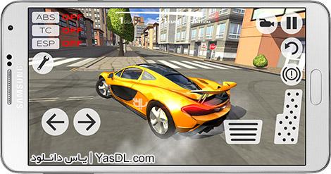 دانلود بازی Extreme Car Driving Simulator 4.10 - شبیه ساز رانندگی اتومبیل برای اندورید