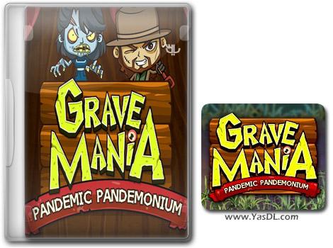 دانلود بازی کم حجم Grave Mania 2 Pandemic Pandemonium برای کامپیوتر