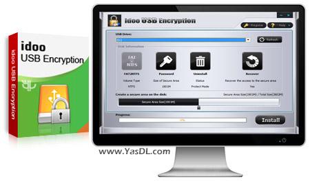 دانلود Idoo USB Encryption 5.0 - محافظت از حافظه های فلش