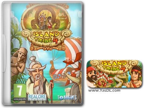 دانلود بازی کم حجم Island Tribe 4 برای کامپیوتر