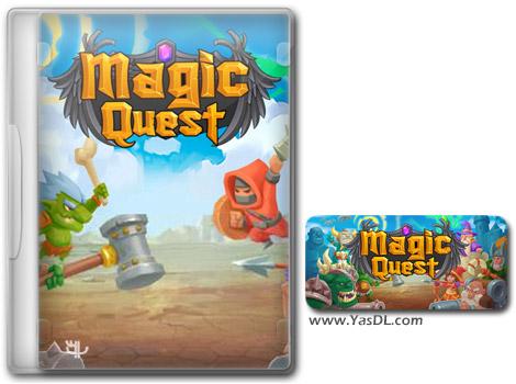 Magic Quest.cover  - دانلود بازی کم حجم Magic Quest برای کامپیوتر