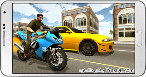 دانلود بازی Moto Racer 3D 20160713 - موتورسواری 3 بعدی برای اندروید