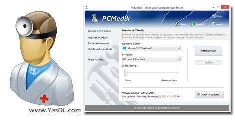 دانلود PGWare PCMedik 8.7.25.2016 - بهینه سازی و افزایش سرعت سیستم