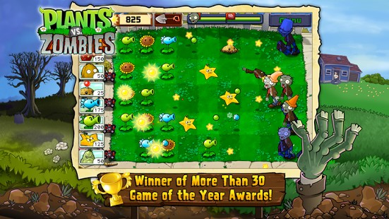 Play Plants Vs Zombies FREE 2.9.07 For Android + Infinite