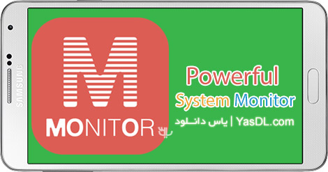 دانلود Powerful System Monitor 4.0.0 - مانیتورینگ گوشی های اندروید