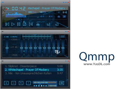 دانلود Qmmp 0.10.2 + Portable - موزیک پلیر حرفه ای برای ویندوز
