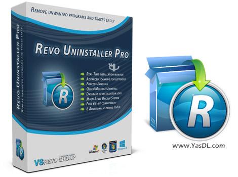 دانلود Revo Uninstaller Pro 3.1.6 + Portable - حذف آسان و کامل برنامه ها