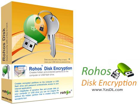 دانلود Rohos Disk Encryption 2.3 - رمزگذاری بر روی هارد و فلش مموری