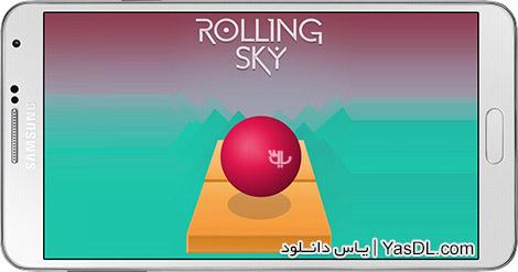 دانلود بازی Rolling Sky 1.2.0 - آسمان نورد برای اندروید