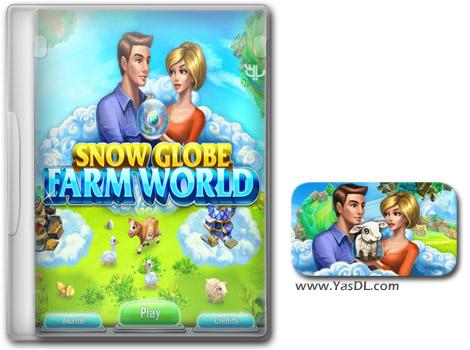 دانلود بازی کم حجم Snow Globe Farm World برای کامپیوتر