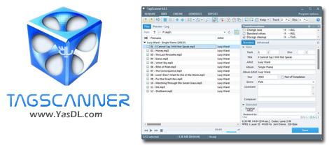 دانلود TagScanner 6.0.14 + Portable - مدیریت و ویرایش تگ فایل های صوتی