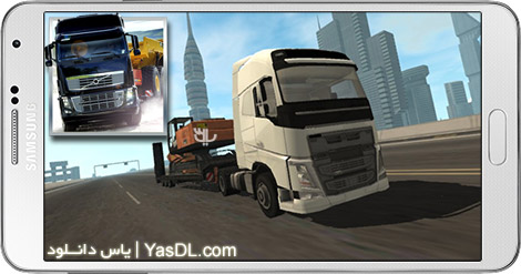 دانلود بازی Truck Simulator City 1.4 - رانندگی کامیون در شهر برای اندروید