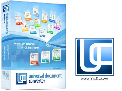 دانلود Universal Document Converter 6.6.1607.26210 - تبدیل اسناد متنی