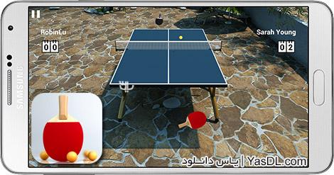 دانلود بازی Virtual Table Tennis 1.0.19 - تنیس روی میز برای اندروید