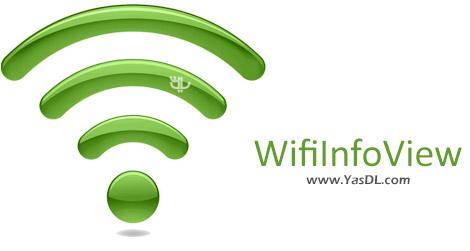 دانلود WifiInfoView 2.06 - نمایش اطلاعات شبکه های WiFi
