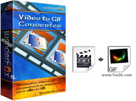 دانلود WonderFox Video to GIF Converter 1.2 Portable - تبدیل ویدیو به GIF