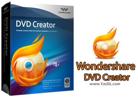 دانلود Wondershare DVD Creator 4.0.0.16 + DVD Templates - ساخت حرفه ای دیسک های DVD