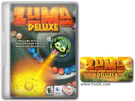 دانلود بازی کم حجم Zuma Deluxe برای کامپیوتر