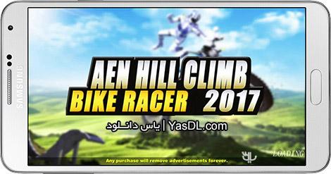 دانلود بازی AEN Hill Climb Bike Racer 2017 1.2 - تپه نوردی با موتور برای اندروید