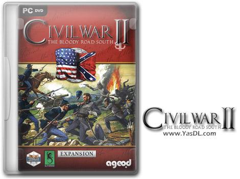 دانلود بازی Civil War II The Bloody Road South برای PC